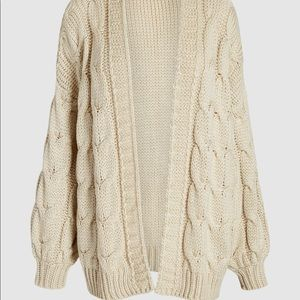 Vintage Ports International Cable knit sweater